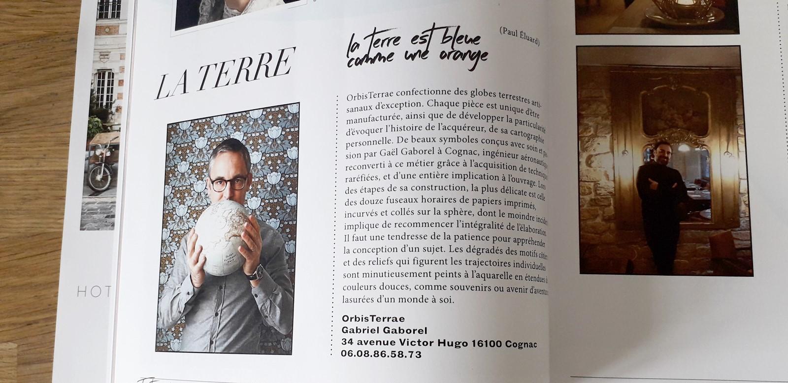OrbisTerrae globe Faust Magazine