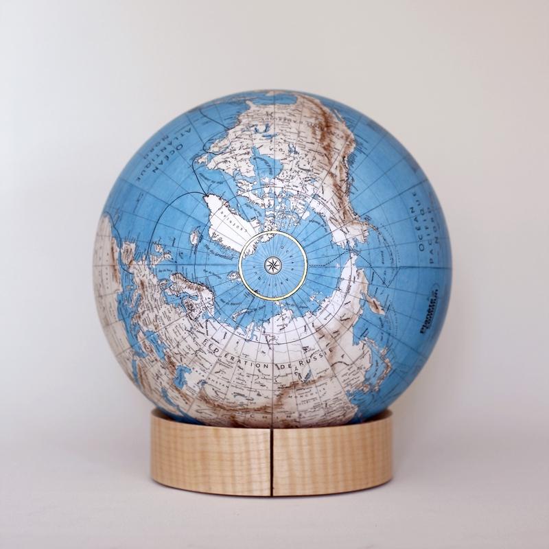 Globe planete en commun